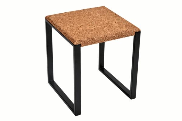 Square-Side-Table-Amber-Cork-Dark-Metal-1